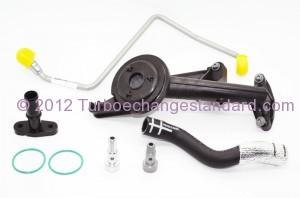 Kit de montage turbo moteur DV6 - Garrett 753420 - KKK 49173